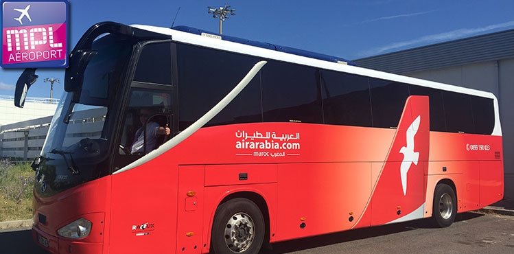 "Lancement de ""Air Arabia Express"" : mise en place de navettes/bus vers Montpellier"